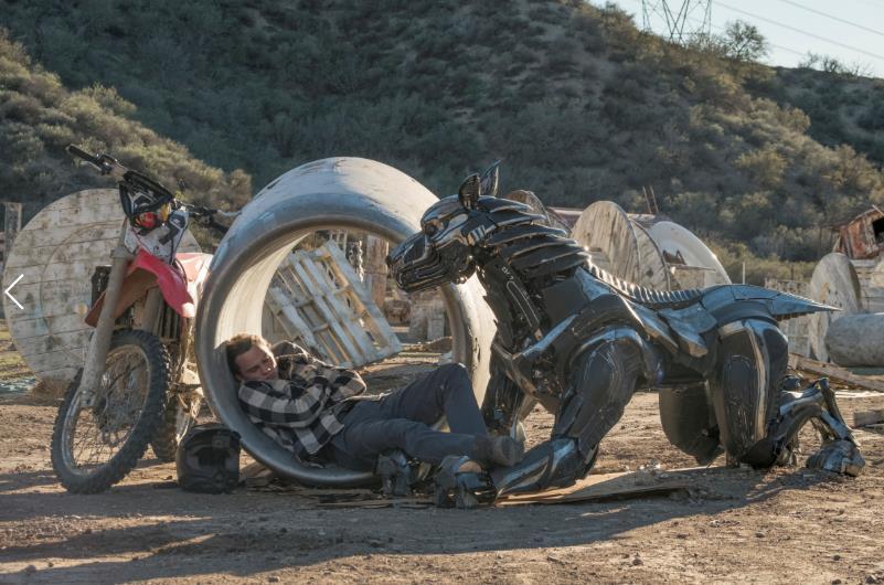 A-X-L chú chó Robot - Bộ phim thú vị về chú chó máy trung thành - Ảnh 3.
