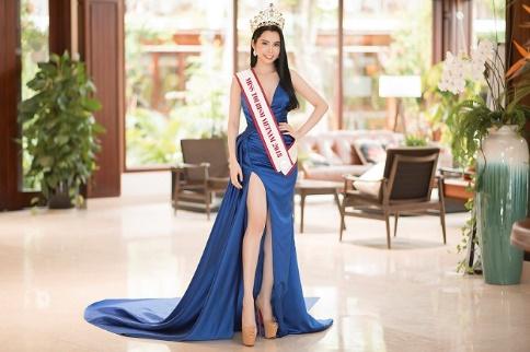 Á khôi Huỳnh Vy chính thức đại diện Việt Nam tham gia Miss Tourism Queen Worldwide 2018 - Ảnh 1.