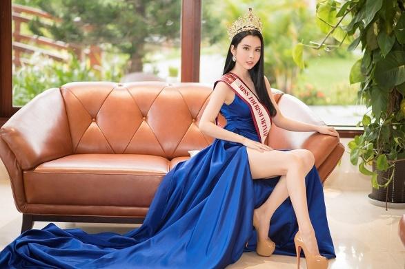Á khôi Huỳnh Vy chính thức đại diện Việt Nam tham gia Miss Tourism Queen Worldwide 2018 - Ảnh 4.