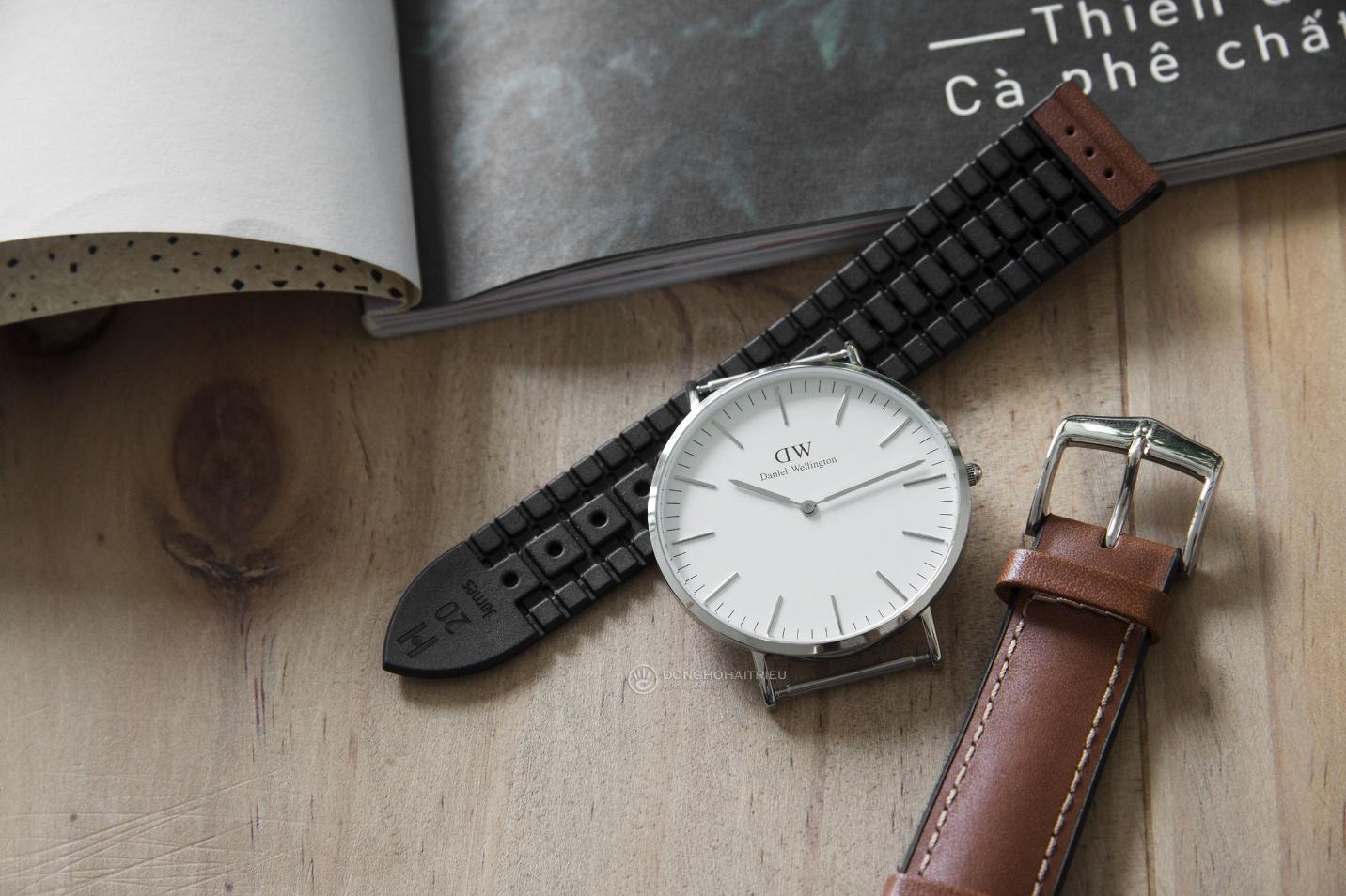 Bộ sưu tập dây da được các thương hiệu đồng hồ nổi tiếng thế giới ưa chuộng - Ảnh 3.