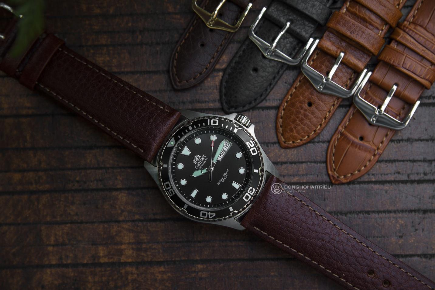 Bộ sưu tập dây da được các thương hiệu đồng hồ nổi tiếng thế giới ưa chuộng - Ảnh 4.