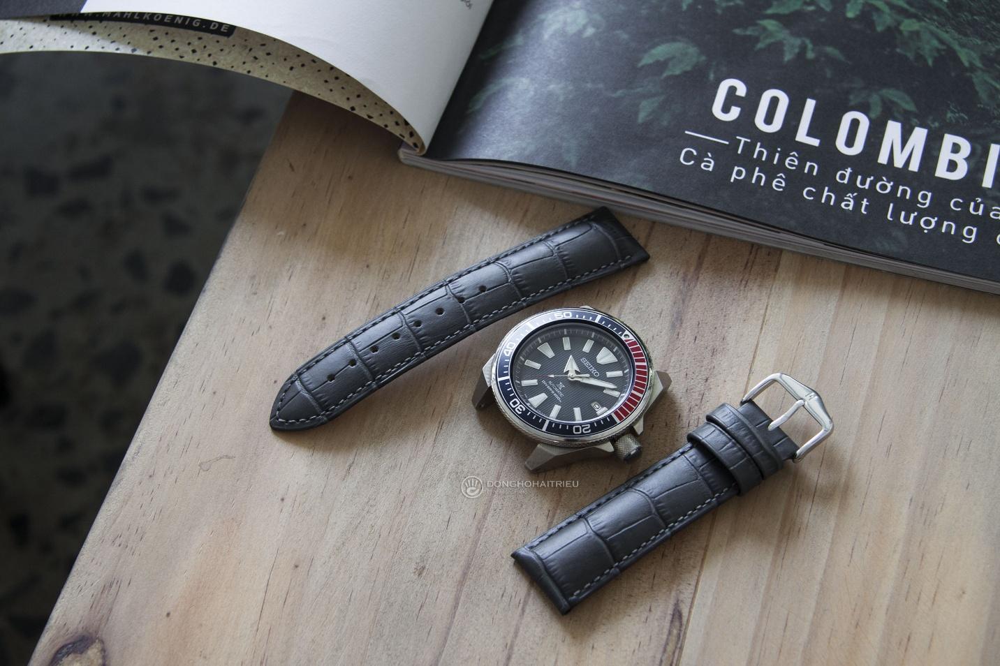 Bộ sưu tập dây da được các thương hiệu đồng hồ nổi tiếng thế giới ưa chuộng - Ảnh 7.
