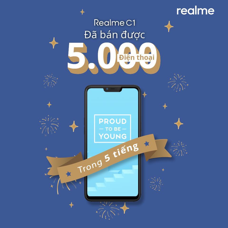 Vượt quá 11.000 máy bán ra, Realme C1 đang làm nóng tháng 11 - Ảnh 2.