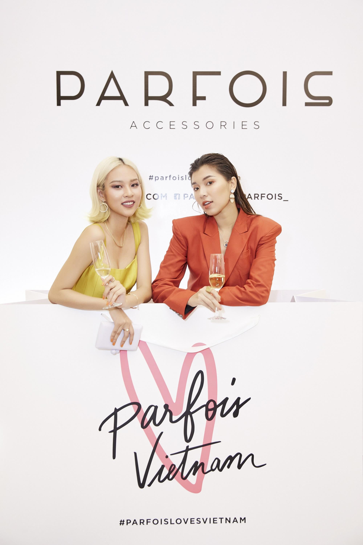 Châu Bùi, Phí Phương Anh cùng đông đảo tín đồ thời trang hội tụ tại cửa hàng phụ kiện đầu tiên của PARFOIS - Ảnh 5.