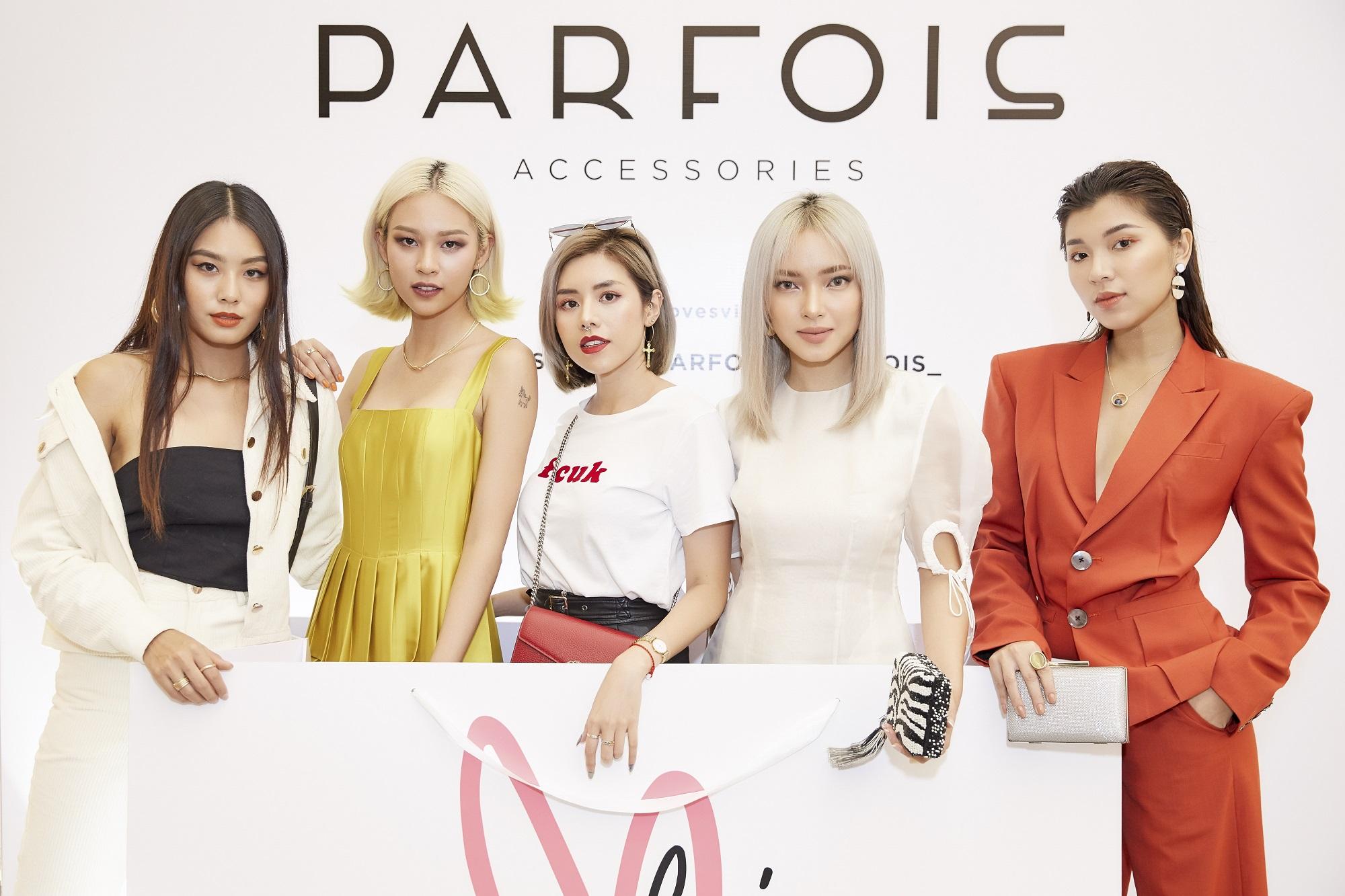Châu Bùi, Phí Phương Anh cùng đông đảo tín đồ thời trang hội tụ tại cửa hàng phụ kiện đầu tiên của PARFOIS - Ảnh 7.