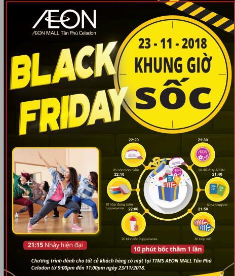 Lên kế hoạch đổ bộ AEON MALL Tân Phú mùa Black Friday 2018 - Ảnh 3.