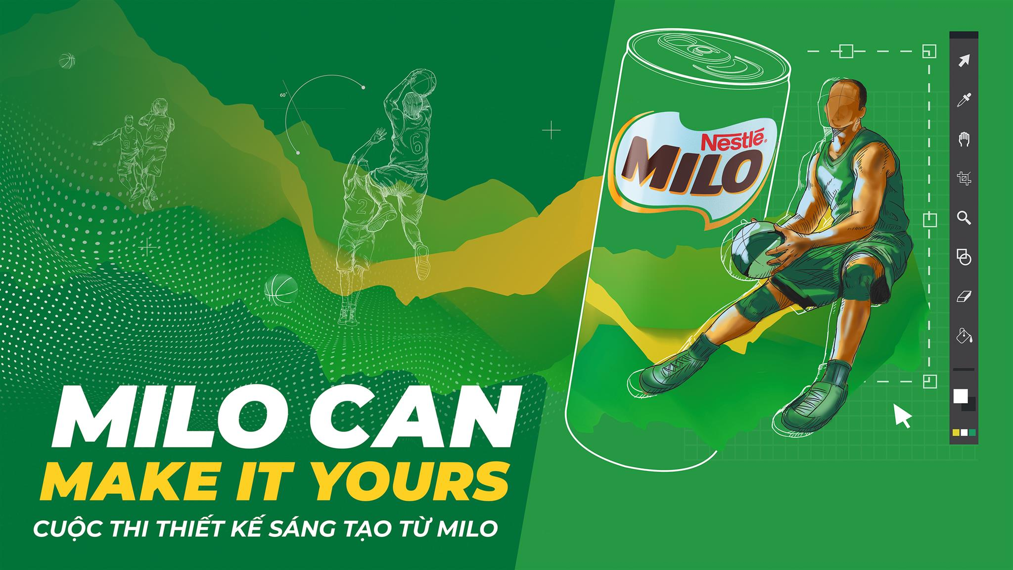 """Top 12 cuộc thi """"Milo Can Make It Yours"""" đã lộ diện: Toàn những gương mặt cá tính, tài cao! - Ảnh 1."""