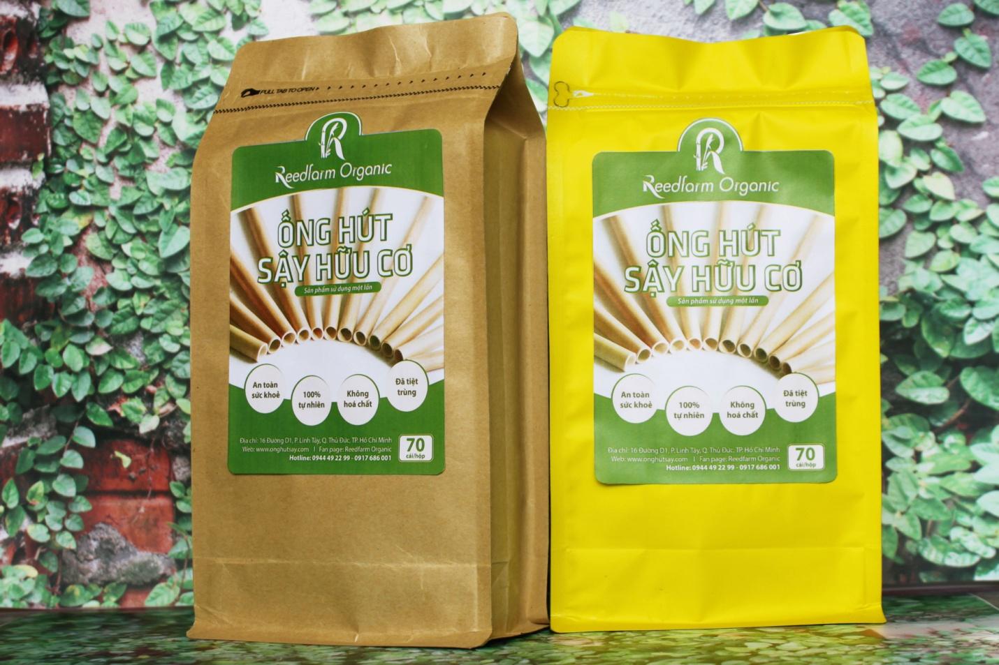 Ống hút sậy Reedfarm Organic: Nguyên liệu mới làm ống hút hứa hẹn trở thành trào lưu check-in của giới trẻ - Ảnh 3.