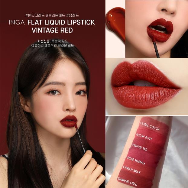 """Bật mí cách mua thỏi son """"high end"""" - INGA Flat Liquid của nhóm nhạc đình đám Kpop Mamamoo chỉ với 200k - Ảnh 10."""