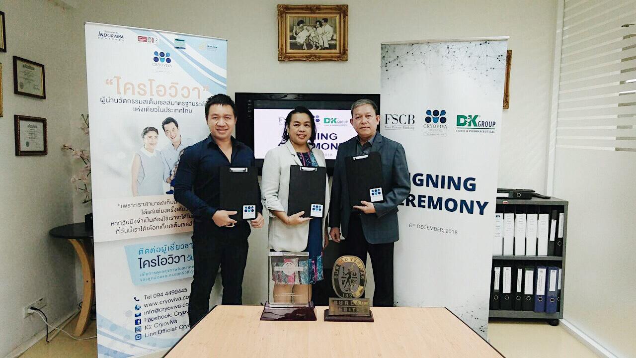 DK Group, FSCB và Cryoviva Thái Lan ký kết chiến lược phân phối sản phẩm lưu trữ tế bào gốc cuống rốn - Ảnh 2.