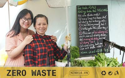 Người tặng tấm biển Tui bán rau, không bán túi nilon cho các sạp hàng ở Sài Gòn: Các cô chú làm được thì chúng mình cũng làm được!