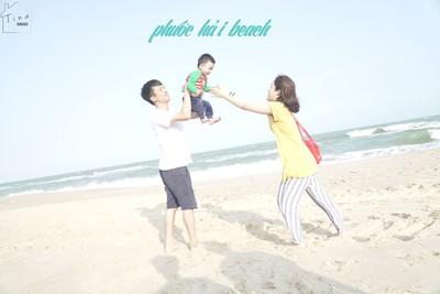 Đến vùng biển Phước Hải, cùng con nghe sóng vỗ và tận hưởng những ngày bình yên
