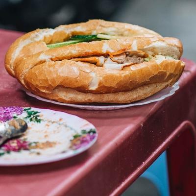 Bánh mì Pate Hà Nội