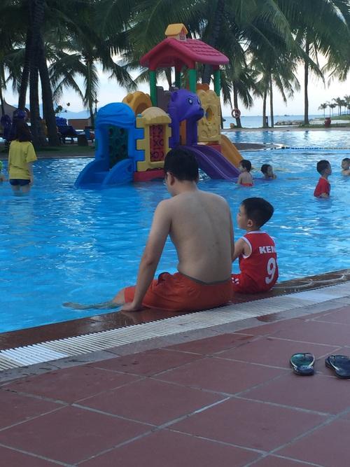 Bể bơi cho bé rất an toàn