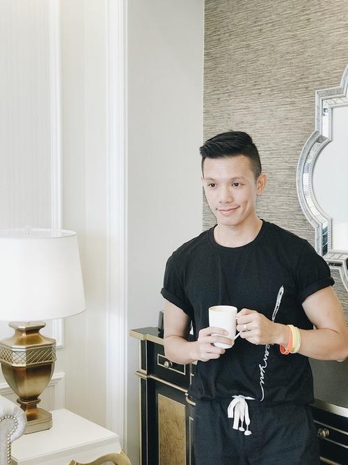 Ly cà phê buổi sáng thật tuyệt