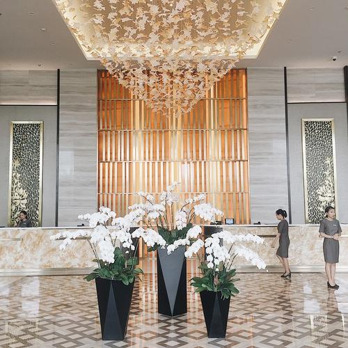 Sảnh lobby hiện đại