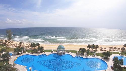 Đây là phòng Ocean View với tầm nhìn cực kỳ tuyệt vời.