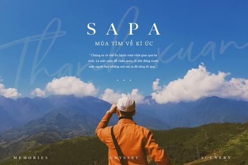 Tháng 10 này, tôi quyết định trở lại Sapa một lần nữa.