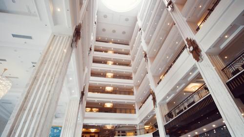 Khu khách sạn cực hoành tráng
