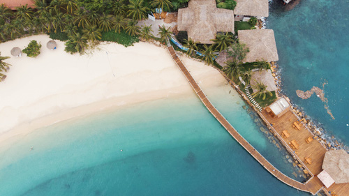 Biển xanh, cát trắng còn gì tuyệt hơn nửa nhỉ?