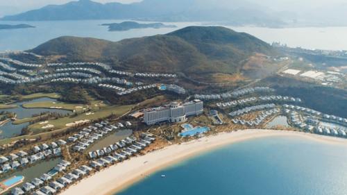 Khu resort từ trên cao