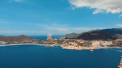 Một góc toàn cảnh của hòn đảo