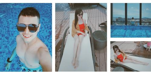 Bể bơi trong nhà - Vinpearl Hà Tĩnh.