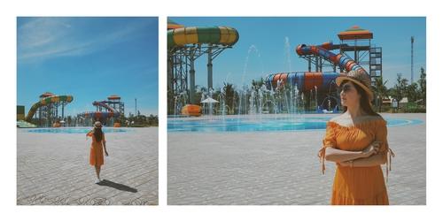 Vinpearl Water Park nằm trong tổ hợp Vinpearl Discovery Hà Tĩnh