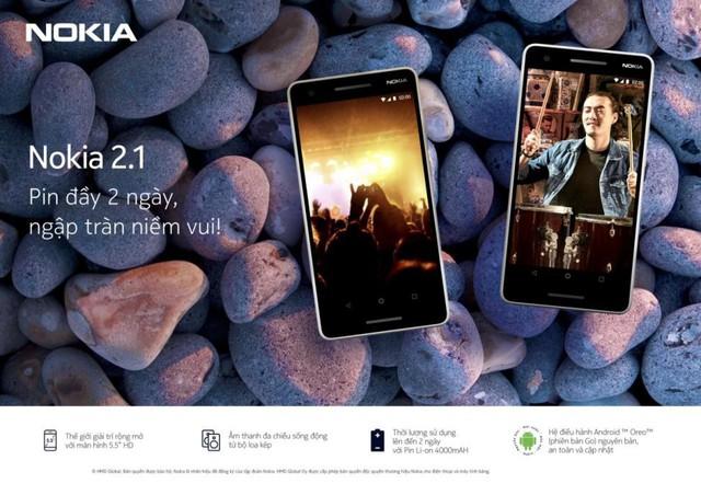 Nokia 2.1 trở lại với năng lượng giải trí bất tận - Ảnh 1.