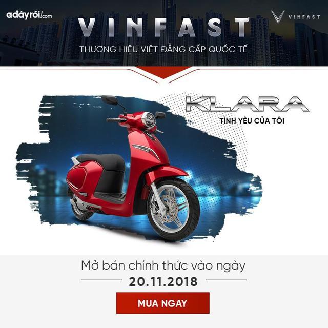 """Khám phá """"giới hạn"""" xe máy điện VinFast Klara - Ảnh 4."""