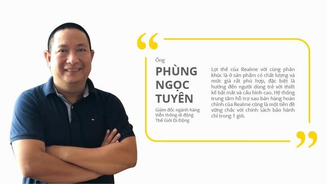 Chưa đầy 2 tháng, Realme đã hoàn tất nền móng vững chắc tại thị trường Việt Nam - Ảnh 2.
