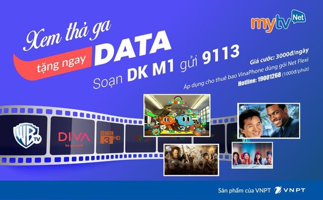Tặng data thả ga lướt web khi đăng ký gói Ngày Net Flexi của MyTV Net - Ảnh 2.