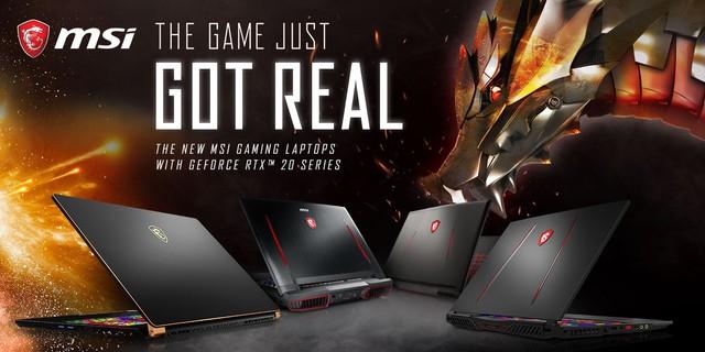 """MSI ra mắt dòng sản phẩm mới và cập nhật toàn bộ các mẫu laptop chơi game với card đồ họa siêu """"đỉnh"""" - Ảnh 1."""