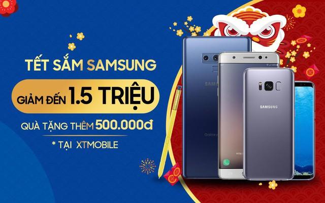 Galaxy S8, S8 Plus, Note FE và Note 9 giảm đến 1,5 triệu đồng kèm quà tặng lên đến 500.000 đồng tại XTmobile - Ảnh 1.
