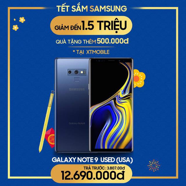 Galaxy S8, S8 Plus, Note FE và Note 9 giảm đến 1,5 triệu đồng kèm quà tặng lên đến 500.000 đồng tại XTmobile - Ảnh 2.