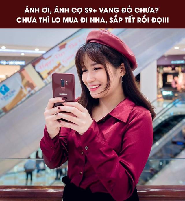 Mua một được ba với Galaxy S9+ Vang Đỏ: smartphone kiêm phụ kiện thời trang kiêm bùa may đỏ cả năm - Ảnh 4.