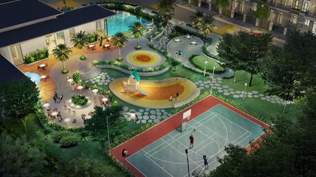 Verosa Park: Cụm tiện ích đa dạng với khu thể dục thể thao đa năng, sân vui chơi trẻ em, BBQ, phòng tập gym, hồ bơi...