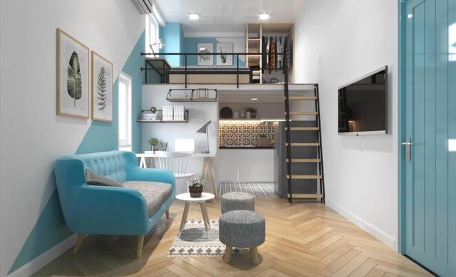 5 kiểu căn hộ mini hiện đại nhìn là thích ngay - Ảnh 4.