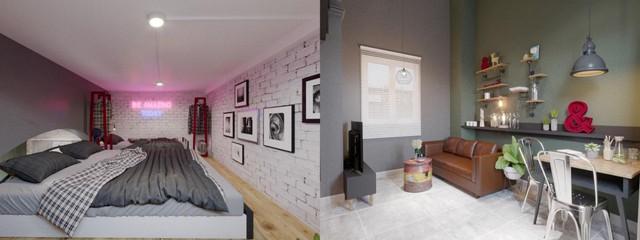 5 kiểu căn hộ mini hiện đại nhìn là thích ngay - Ảnh 7.