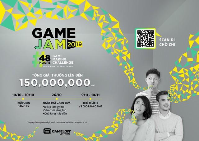 Ông lớn Gameloft khởi động Game Jam 2019 với tổng giải thưởng lên đến 150 triệu đồng - Ảnh 1.