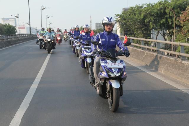 """Động cơ Yamaha Blue Core trải nghiệm """"đặc sản"""" kẹt xe tại xứ vạn đảo Indonesia - Ảnh 1."""