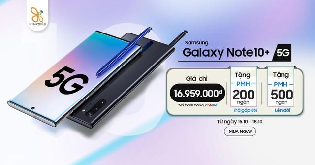 Galaxy Note 10+ 5G giá chỉ 16,9 triệu đồng đáng mua bậc nhất hiện nay - Ảnh 1.