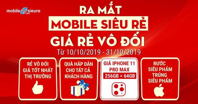 Ra mắt website: Mobile siêu rẻ – Giá rẻ vô đối - Ảnh 3.