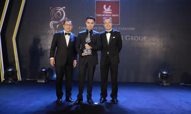 Tập đoàn Tân Hoàng Minh được vinh danh tại Lễ trao giải Giải thưởng kinh doanh xuất sắc châu Á 2019 - Ảnh 1.