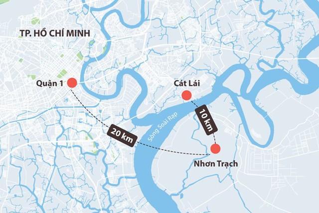 Cầu Cát Lái sắp khởi công, BĐS Nhơn Trạch Đồng Nai là tâm điểm - Ảnh 1.