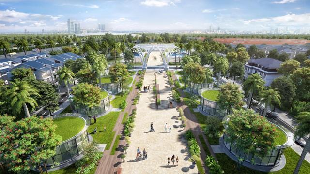 Chọn biệt thự Sol Lake Villa cho cuộc sống đậm chất xanh - Ảnh 1.