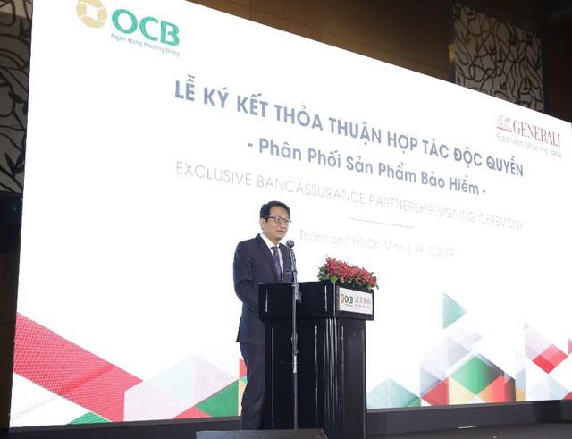 OCB và Generali Việt Nam công bố hợp tác độc quyền 15 năm - Ảnh 1.