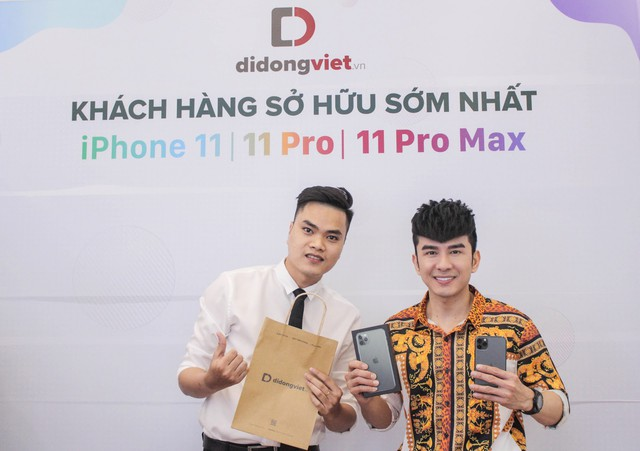 Cách Shark Hưng và sao Việt nổi tiếng chọn iPhone 11 Pro Max - Ảnh 2.