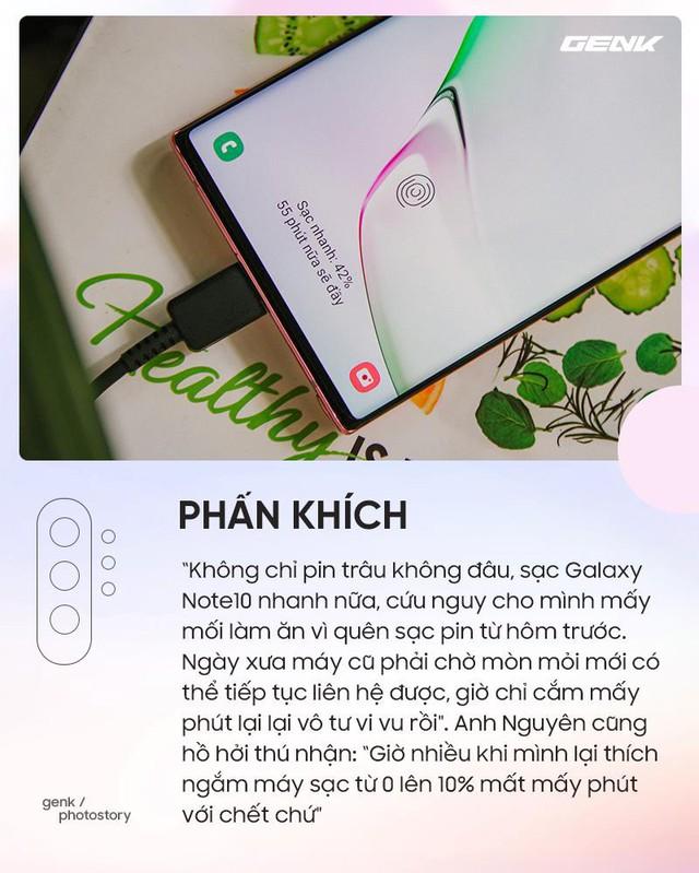 Những cung bậc cảm xúc khi lần đầu trải nghiệm những tính năng chỉ có trên Galaxy Note10 - Ảnh 5.