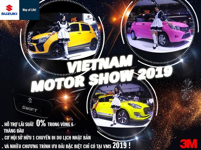 Ấn tượng Suzuki Celerio tại Vietnam Motor Show 2019 - Ảnh 1.